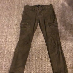 """Low rise Ankle skinny """"Stella"""" Cargo pants"""